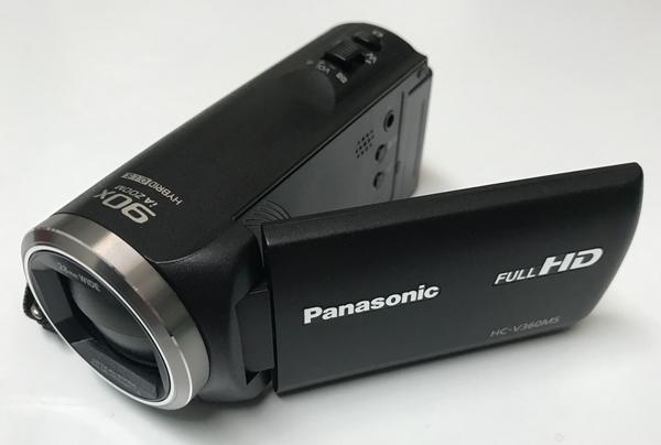 パナソニックHC-V360MSのズーム性能をテストしました